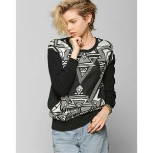 Urban outfitters Ecote geometric sweater
